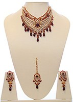 Indian Necklace Set BGRC10036 Indian Jewellery