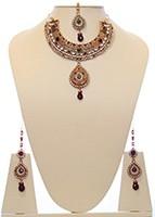 Indian Necklace Set BGRC10038 Indian Jewellery