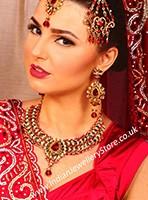 LCT Necklace Set - Nazreen NACC10446C Indian Jewellery