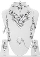 Kundan & Pearl Bridal Set - Vashita BSWL10508 Indian Jewellery