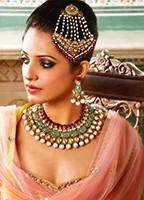 Bollywood Pearl Necklace Set BALL10514C Indian Jewellery