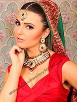 Collar Necklace Set - Saashi NARL10525C Indian Jewellery