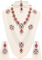 Pearl Mughal Bridal Set BARL10583 Indian Jewellery
