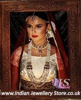 Royal Pearl Bridal Set - Pareena BARL10590C Indian Jewellery