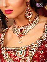 Nisha Indian Jewellery Set BAWK10712C Indian Jewellery