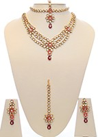 Lavish Kundan Wedding Set BEPK10714 Indian Jewellery