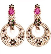 LUCY Earrings EAMC03349 Indian Jewellery