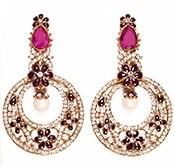 LUCY Earrings EAUC03355 Indian Jewellery