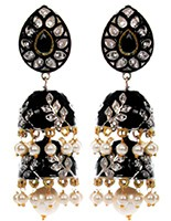 Chloe 2-Layer Jhumka EABL10365 Indian Jewellery
