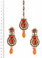 RAJNI Earrings Tikka IAOC02902 Indian Jewellery