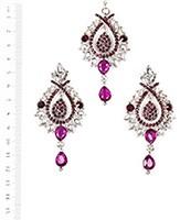 KIA Earrings and Tikka ISUC04086 Indian Jewellery
