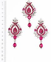 KIA Earrings and Tikka ISPC04087 Indian Jewellery