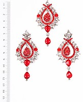 KIA Earrings and Tikka ISRC04091 Indian Jewellery