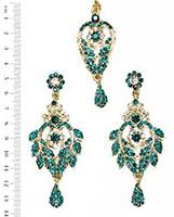 Yashi Earring and Slim Tikka IALC04259 Indian Jewellery