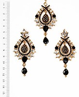 KIA Earrings and Tikka IABK04372 Indian Jewellery