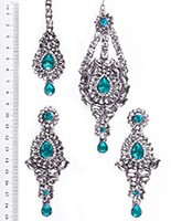 Rhumi Ear-Tikka-Passa Kundan ISLK04754 Indian Jewellery
