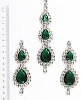 Sweety Kundan Earrings and Wide Tikka Set ISGK04850 Indian Jewellery