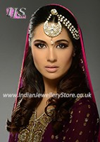 Half Matha Patti - Fizana PAWC10612C Indian Jewellery