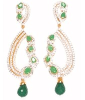 Ambreen Earrings EGGA03363 Indian Jewellery
