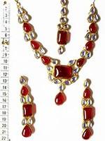 BEENA Kundan Set NGRK0347 Indian Jewellery