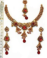 Tribal necklace set. NGRP0351 Indian Jewellery