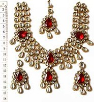 CHANDANI Necklace Set NARK02378 Indian Jewellery