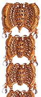 Butterfly X-Large Hair Chotli CGWP03290 Indian Jewellery