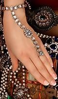 2 x Mishi Silver Hath Panjas HSWK03458C Indian Jewellery