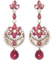 Phool Earring EAPA03525 Indian Jewellery