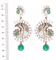 Ambreena Earrings ESGA03539 Indian Jewellery