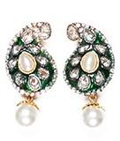 Meena Paisley Studs EGGA03798 Indian Jewellery