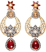 NISHA Indian Earrings EARA04056 Indian Jewellery