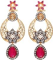 NISHA Indian Earrings EARA04057 Indian Jewellery
