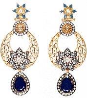 NISHA Indian Earrings EALA04059 Indian Jewellery