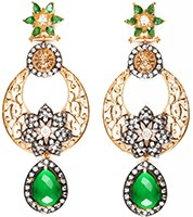 NISHA Indian Earrings EAGA04061 Indian Jewellery