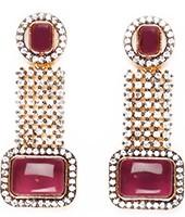 Ruhee Indian Earrings EAUA04305 Indian Jewellery