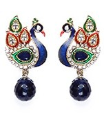 Peacock Indian Studs ESLA04313 Indian Jewellery