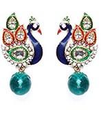 Peacock Indian Studs ESGA04315 Indian Jewellery