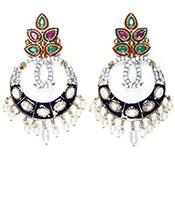 Misha Indian Earrings ESMA04330 Indian Jewellery