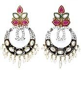Misha Indian Earrings ESRA04335 Indian Jewellery