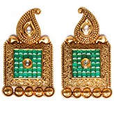 Large Square Studs EAGA10402 Indian Jewellery