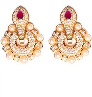 Medium Round Studs EERA10404 Indian Jewellery