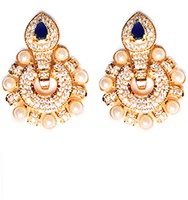 Medium Round Studs EELA10405 Indian Jewellery