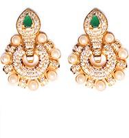 Medium Round Studs EEGA10406 Indian Jewellery