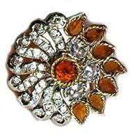 Large Rajastani Ring RGNA0901 Indian Jewellery