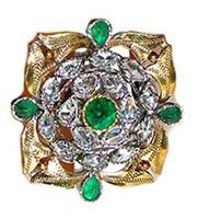Large Ring RAGA0910 Indian Jewellery