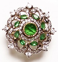 Large Indian Ring RGGA02773 Indian Jewellery