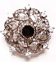 Large Indian Ring RGBA02770 Indian Jewellery