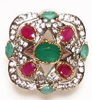 MUGHAL Medium Ring RGAA02756 Indian Jewellery