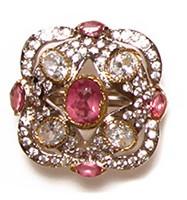 MUGHAL Medium Ring RGPA02753 Indian Jewellery